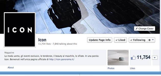 Icon fa il Boom di Fan su Facebook