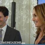 Giada De Laurentiis con Jonathan Sichel