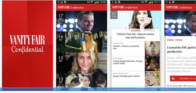 Vanity Fair Confidential: l'app più vanitosa del momento