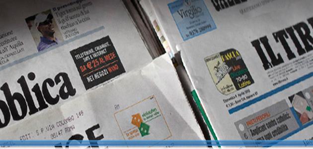 I giornali più letti su Carta e Web: Corriere, Il Sole e La Repubblica
