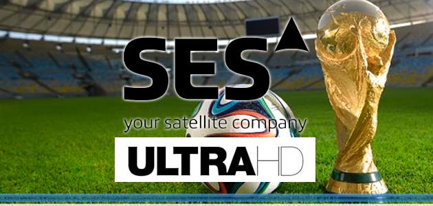 Mondiali 2014 in Ultra HD con SES e Eurovision