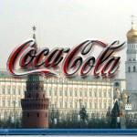 Coca cola in Russia, cremlino