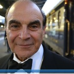 Hercule Poirot interpretato da David Suchet