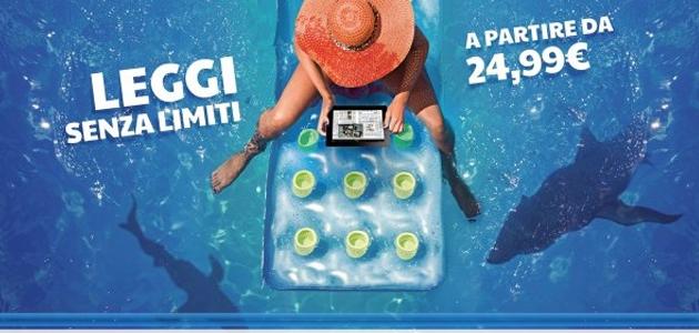 Leggi senza limiti – Quotidiani, riviste e libri RCS no limits per le vacanze