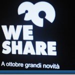 Logo WeShare televisione gruppo ArkMedia canale 163
