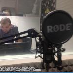 Cabina di incisione - Radio Cusano Campus