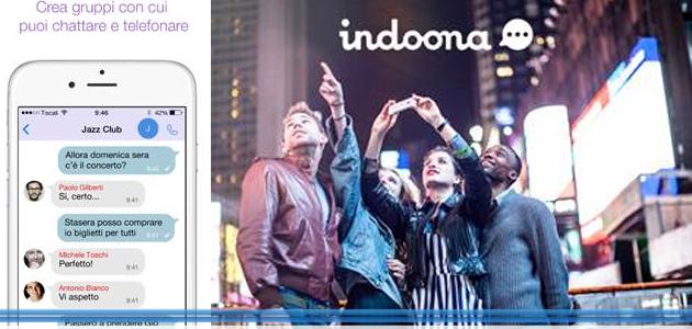 Tiscali Lancia Indoona 3 0 L App Con Chat Chiamate E File Sharing