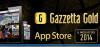 Gazzetta Gold tra le migliori app dell'anno per Apple
