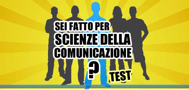 Test tu sei fatto per scienze della comunicazione for Scienze della comunicazione esami da sostenere