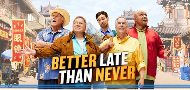 """Endemol Shine porta in Italia l'adventure show """"Better Late Than Never"""""""