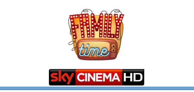 Da oggi – ogni venerdì – è #FamilyTime su Sky Cinema Family