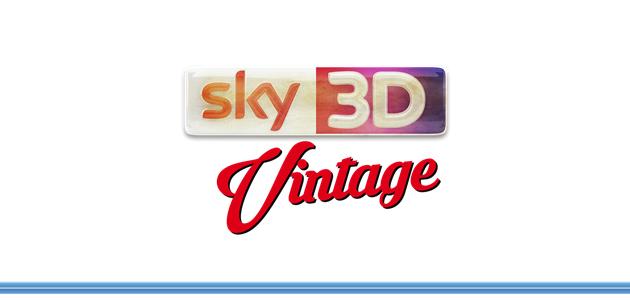 Dall'8 al 16 ottobre si accende Sky 3D Vintage