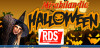 RDS ad Halloween in diretta da Mirabilandia