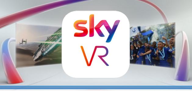 Sky lancia l'applicazione per la Realtà Virtuale a 360°