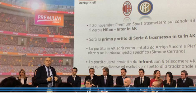 Mediaset Premium e Samsung insieme per il 4K – Reportage