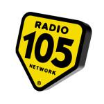 Cambio dell'inclinazione del marchio 3D del marchio Radio 105 Network