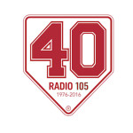 Lo scudo celebrativo per i 40 anni di trasmissione